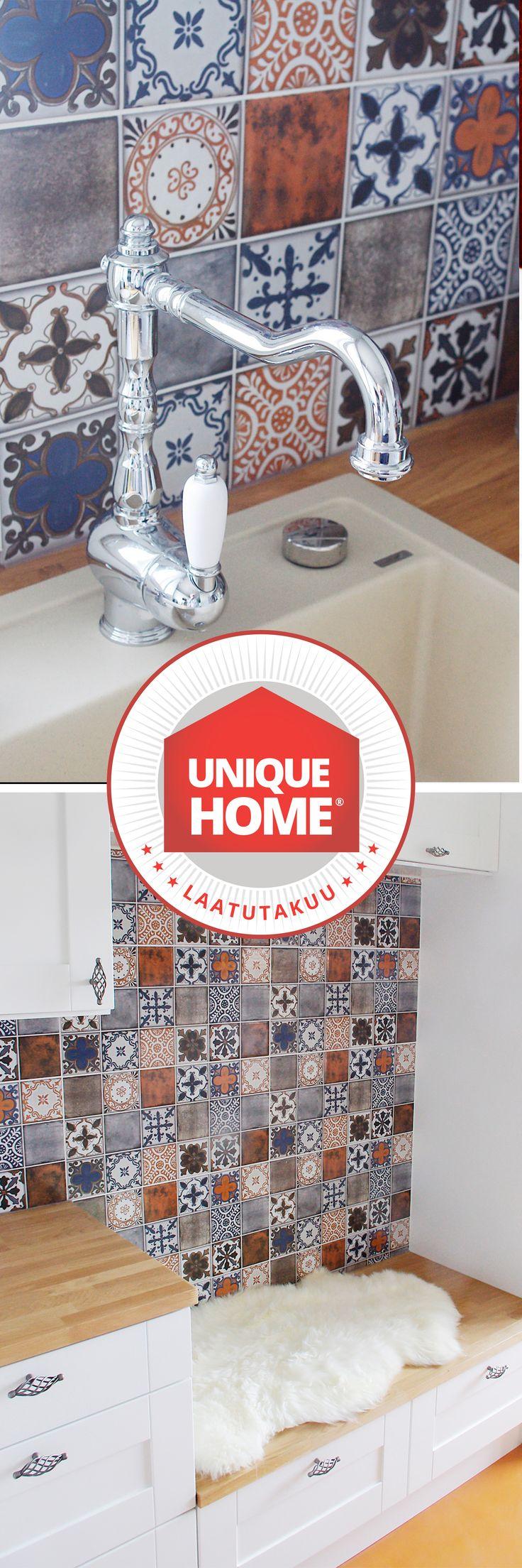 Modernin keittiön ei tarvitse olla minimalistinen. uniquehome.fi