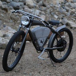1910年代レーシングバイク風の電動アシスト自転車「ICON E-Flyer Electric Bike」 [えん乗り]