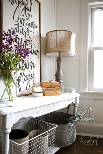 Gorgeous Neutral Farmhouse Dining Room Decor