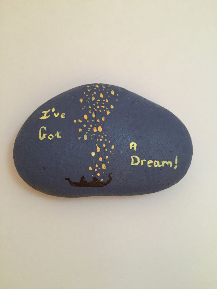 Disney S Tangled Painted Rock By Thefandomarts On Etsy