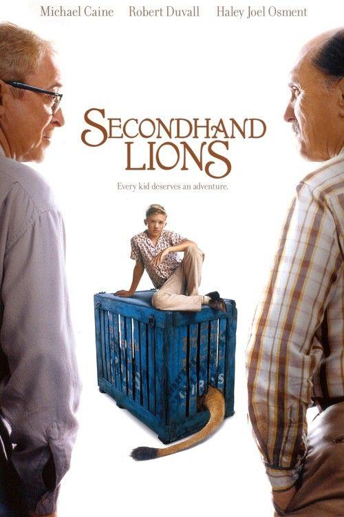 Watch->> Secondhand Lions 2003 Full - Movie Online