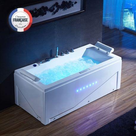 Une petite baignoire pour deux personnes c'est possible! Islande vous offre confort, performance et espace