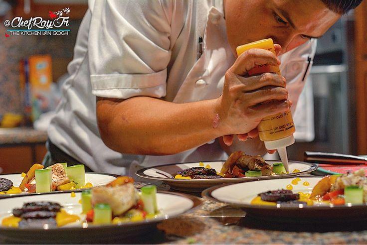 "Miami's New Rising Culinary Talent - ""The Kitchen Van Gogh!"""