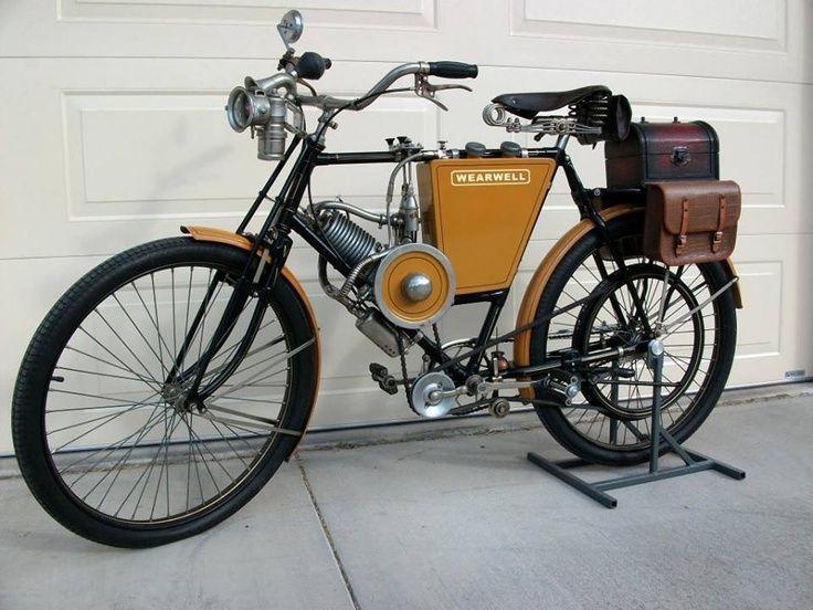 Wearwell-Stevens motor bicycle