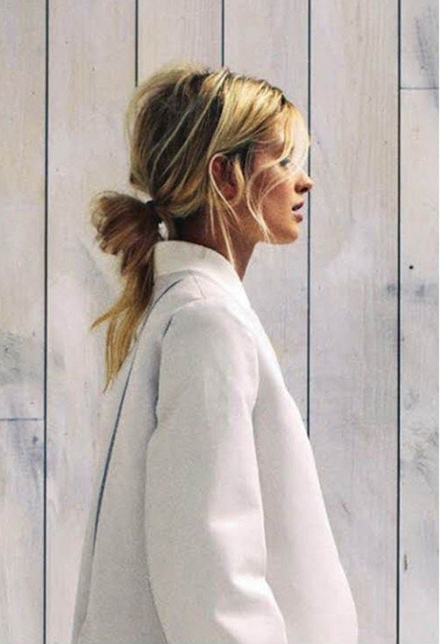 Hairstyle Inspiration | The Ulta Chic undone Ponytail