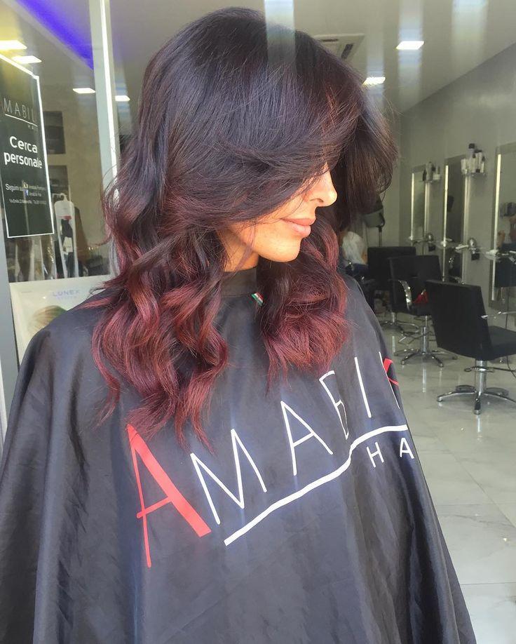 Il rosso ha sempre il suo fascino❤️❤️ Sfumature Rosso rubino by AMABILE #ischia #procida #capri #hairextension #hair #amabilehair #capelli #napoli #roma #ammot #keybeach #clubpartenopeo #neasy #salerno #marano #mugnano #giugliano #sun #shatush #hairstyle #stylist #vomero
