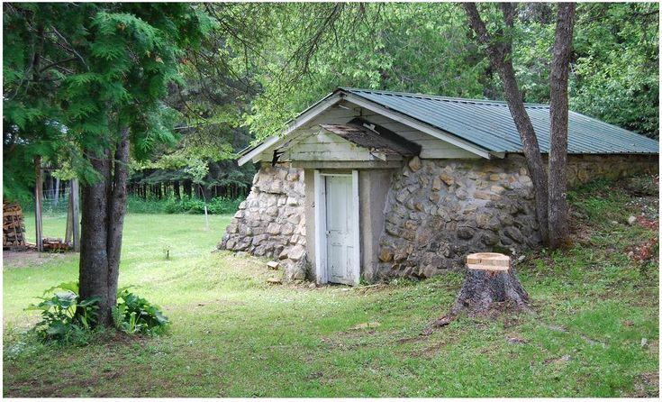 how to build a root cellar in the ground