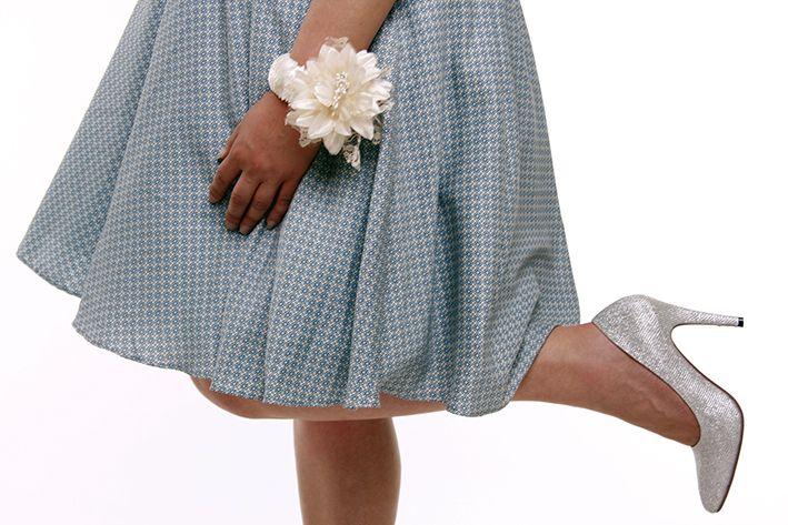 Kék tea dress