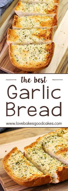 This truly is the BEST GARLIC BREAD recipe! My family loves this!