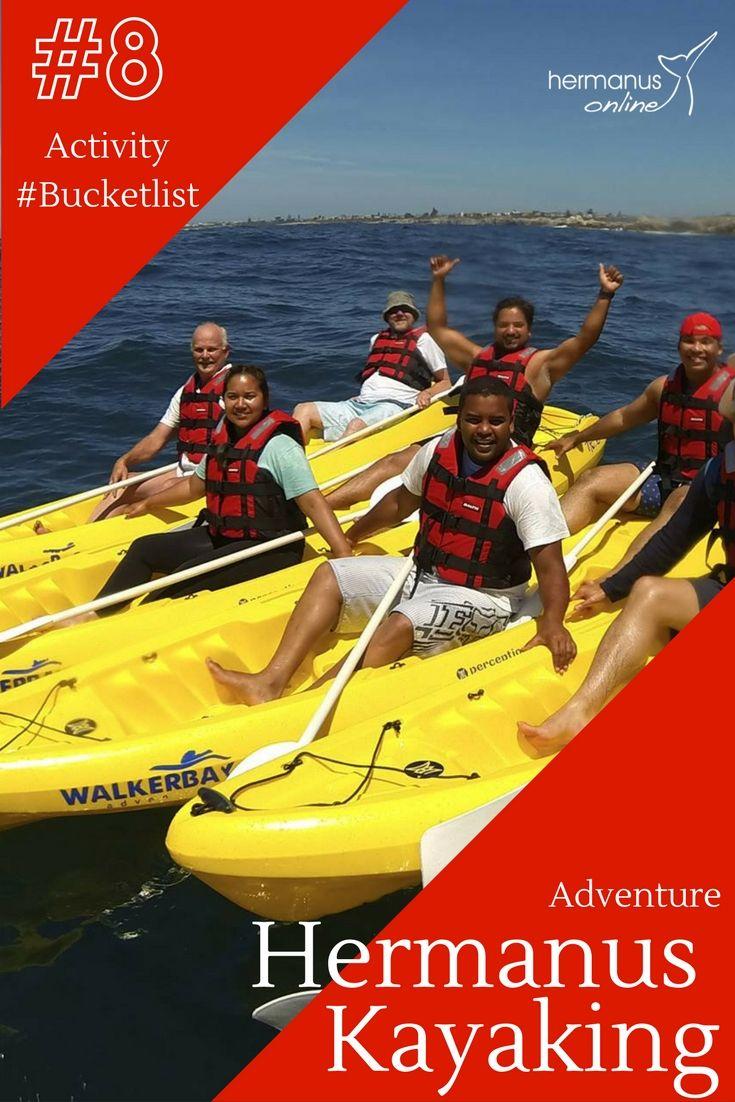 #8 / 10 - Hermanus Activity Bucketlist:  Sea Kayaking