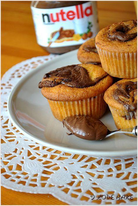 Muffinki Z Nutella Przepis Ciastka I Ciasteczka W 2019 Pinterest
