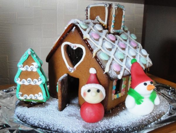 Gingerbread house, Christmas