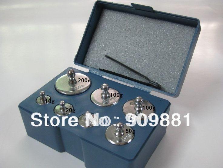Calibration Weight Set 200g 100g 50g 20g 10g 5g Grams