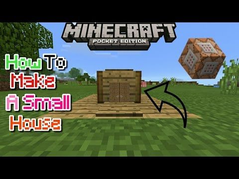 How To Make A Small House Using Command Block In Mcpe 1 0