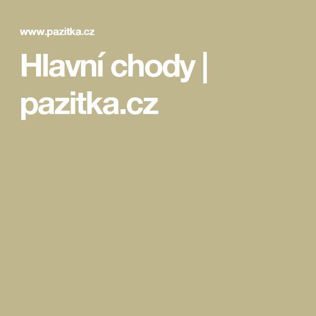 Hlavní chody   pazitka.cz