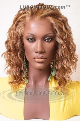 O Zone Black Natural Virgin Lace Front Wig 42