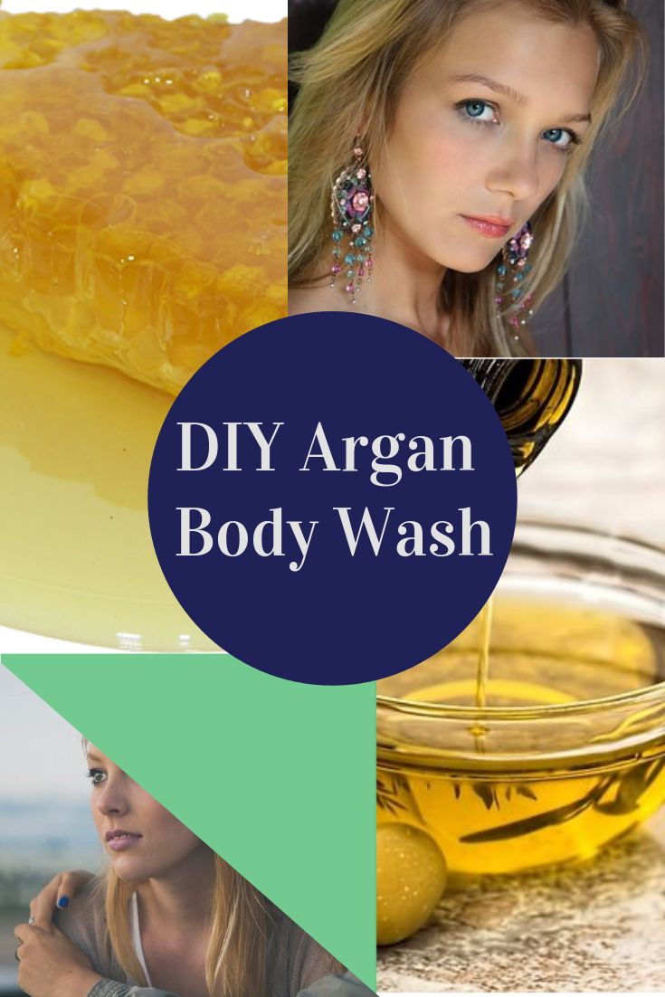 A chemical-free, DIY Argan Body Wash for soft, supple and younger looking skin, you should try today! #antiaging, #naturalskincare - http://www.moroccanpurearganoil.com/diy-homemade-argan-oil-body-wash/