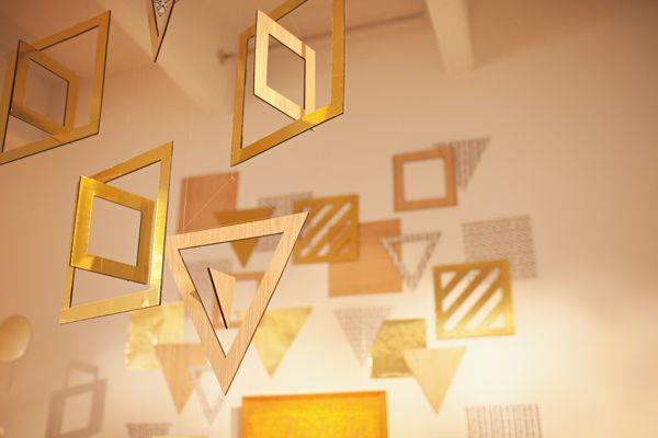 geometric wall hangings