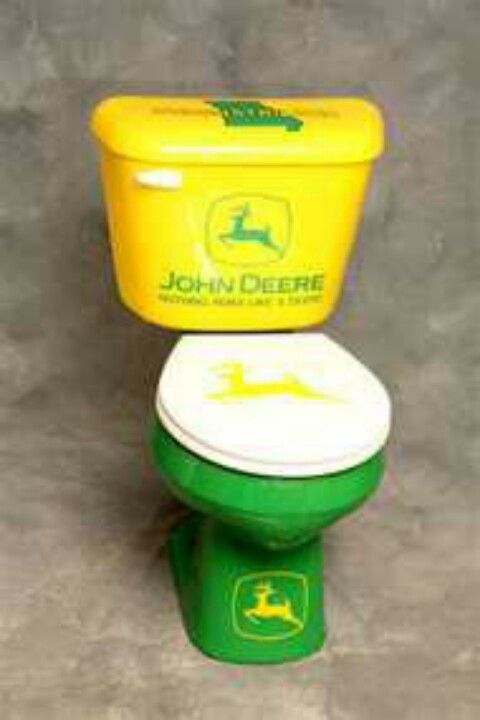 OMG a john Deere john. Dude awesome!!!