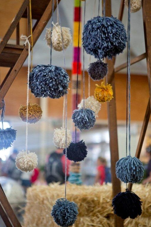 Hanging balls of wool #SRES #wool   Photo taken by:  http://www.000photography.com.au/Home.html