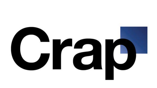 Le nouveau logo de Gap passé à la moulinette du site craplogo.me.