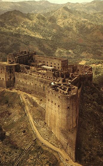 The Citadel, Laferriere ruins in Milot, Haiti, said to be haunted by the men that died building it.