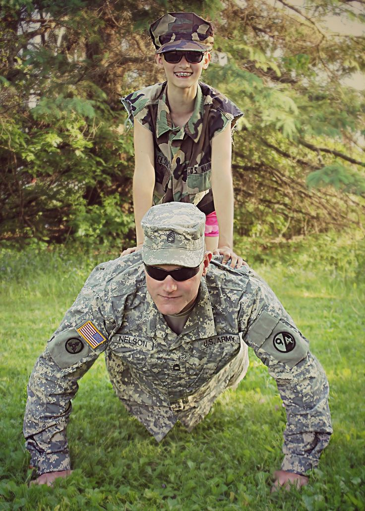 Family Picture Ideas Military