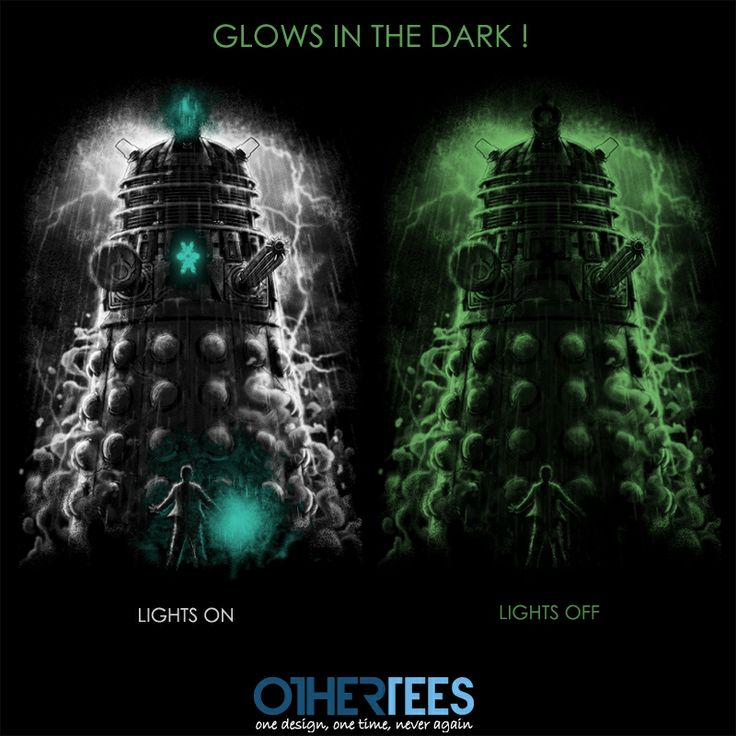 Shadow of #Dalek by Fuacka Shirt on sale until 20 March on http://othertees.com #doctorwho