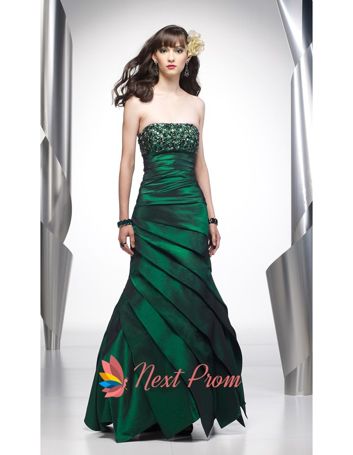 17 best images about emerald green dresses on pinterest
