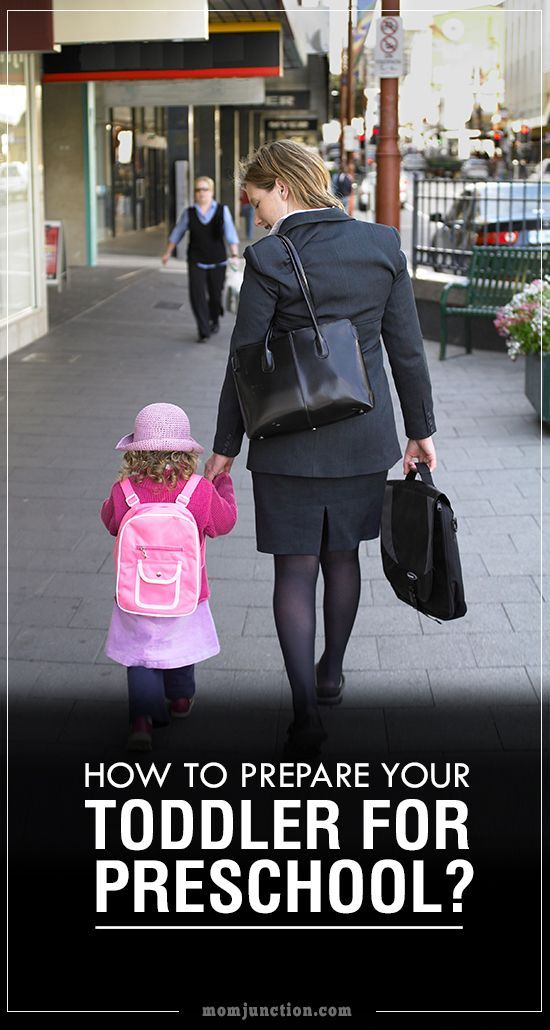 How To Prepare Your Toddler For Preschool? It's probably more stressful for the parents than the child. preparing for baby prepare for baby #baby #pregnancy