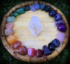 Gratitude Giveaway: The Chakra Dream gemstone set - I am grateful for Earth Mother's bounty and beauty. #gratitude