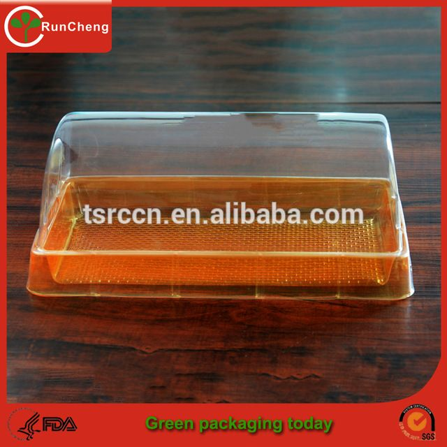 Source Food Grade Disposable Clear Plastic container Transparent Cheese Cake Boxes on m.alibaba.com