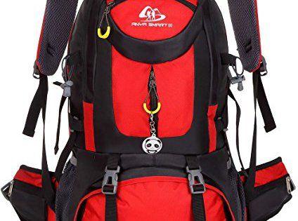 50L extérieur étanche Sac à dos Sac à dos de voyage avec réflecteur amovible pour école voyage Camping Randonnée Cyclisme Ski de chasse: Il…