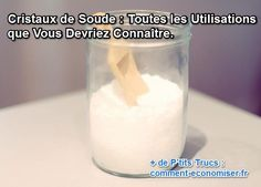 25 best ideas about cristaux de soude on pinterest lessive cristaux naturels and nettoyeur - Cristaux de soude canalisation ...