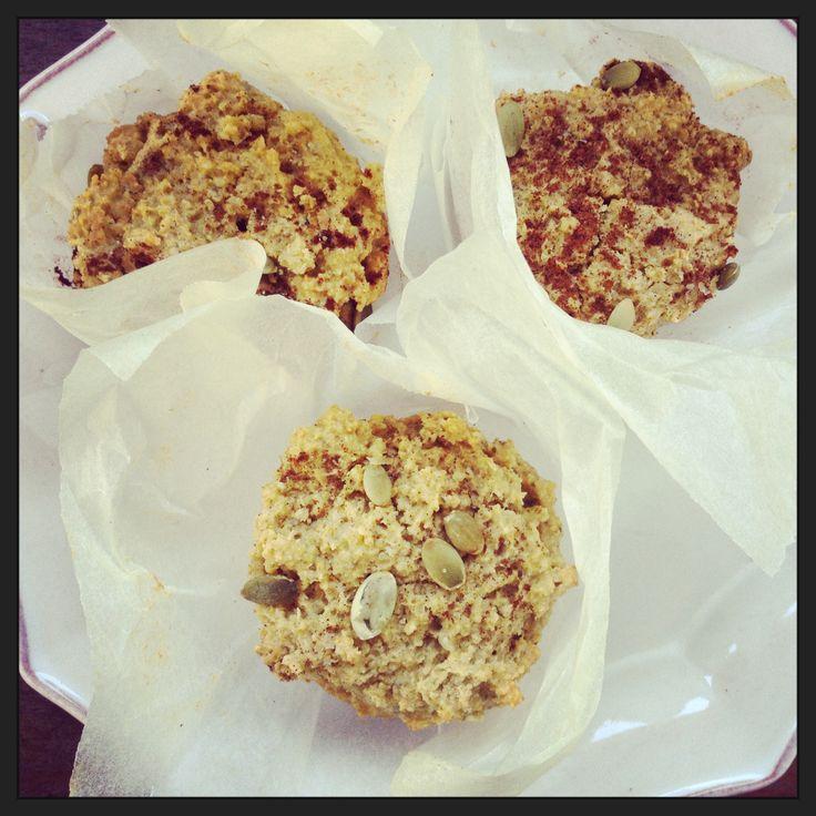 Scones saudáveis de abóbora e sementes de chia