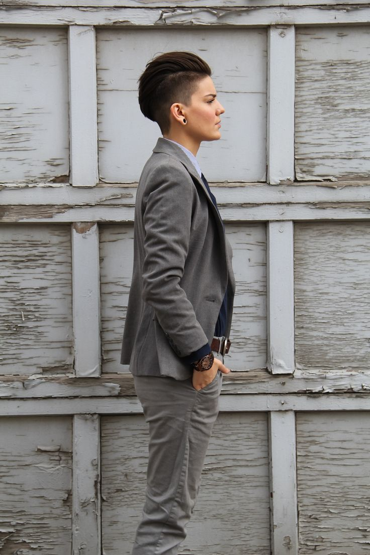129 Best Images About Hair Androgynous Lesbian Dyke
