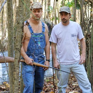 Tim and Tickle: Moonshiners on Discovery Channel.............ya gotta love Tickle.  He's hysterical