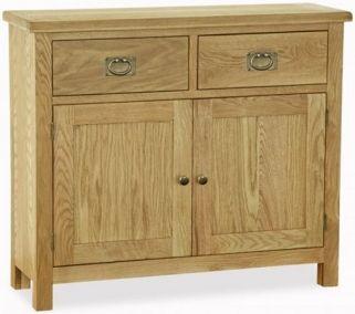 salisbury lite, oak, small sideboard, sideboard