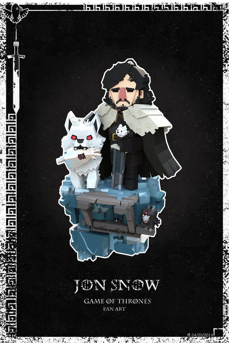 Mini Jon Snow on Behance