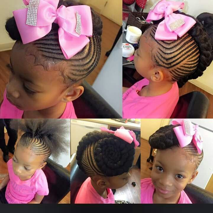 Tremendous 1000 Images About Love The Kids Braids Twist And Natural Styles Short Hairstyles For Black Women Fulllsitofus