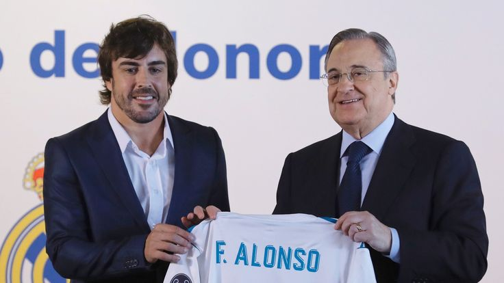 F1 gossip: Fernando Alonso, Red Bull, Mercedes, Jolyon Palmer    Fernando Alonso 'joins' Real Madrid, Christian Horner wants penalties action, Jolyon Palmer not bothered about criticism, plus more.   http://www.bbc.co.uk/sport/formula1/41155329