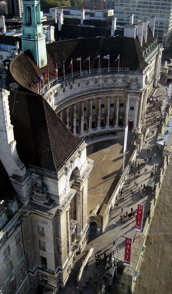 County Hall ~ South Bank, London