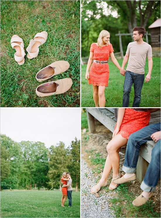 Old Farm Engagement Shoot By Kate Murphy Photography - The Wedding Chicks