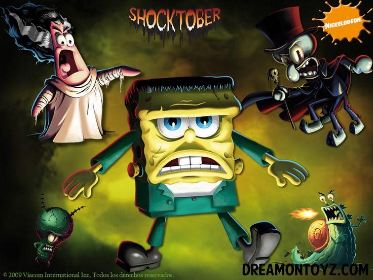 shocktober - Spongebob Halloween Game