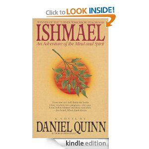 A mind-bending look at the motivations and possible directions of our entire modern society. It may be fiction, but it feels painfully real in a lot of places.  Amazon.com: Ishmael: An Adventure of the Mind and Spirit eBook: Daniel Quinn: Kindle Store