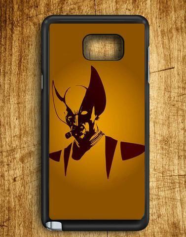 Wolverine Smoking Now Samsung Galaxy Note 5 Case