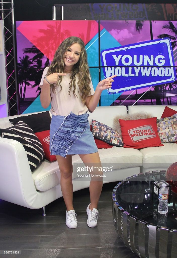 Mackenzie Ziegler visits the Young Hollywood Studio on June 16, 2017 in Los Angeles, California.