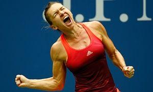 Simona Halep World No2 wins 6-3, 4-6, 6-4 over No. 20 seed Azarenka Halep advances to face Flavia Pennetta in US Open semi-final