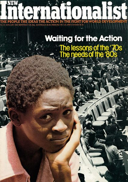 New Internationalist magazine, Issue 083 'Waiting for Action - The lessons of the 70s. The needs of the '80s' January 1980
