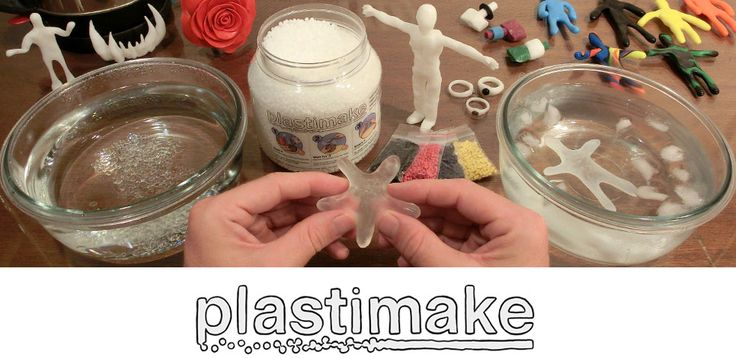 Plastic you can shape with your bare hands.